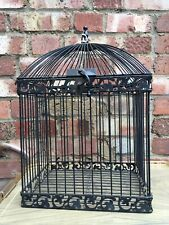 Large Decorative metal bird cage - vintage style