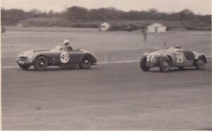 ALLARD &FRAZER NASH RACING DAILY EXPRESS TROPHY MEETING SILVERSTONE MAY1952PHOTO