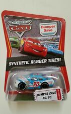 CARS Disney pixar cars BUMPER SAVE nr. 90 synthetic rubber tires ! 1/55 mattel