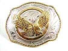 Plata Strike American Eagle en Vuelo Hebilla de Cinturón 11142013
