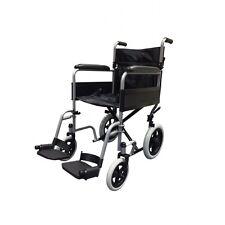 Z-Tec Folding Lightweight Compact Travel Transit Wheelchair Seat Belt Strong