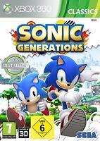 XBOX 360 Spiel Sonic Generations NEU&OVP