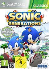 XBOX 360 Jeu Sonic Generations neu&ovp