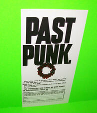 The Stranglers Past Punk No More Hereos Vintage 1977 Original Advertising Circus