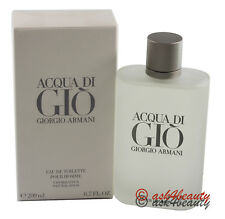 Acqua Di Gio By Giorgio Armani 6.7oz/200ml Edt Spray For Men New In Box