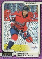 2018-19 O-Pee-Chee Platinum Hockey Violet Pixels #28 Evgeny Kuznetsov