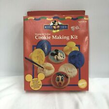 Wilton Mickey Mouse Cookie Kit Stamp Color 1997 Sealed Donald Goofy Pluto