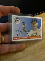 Mickey Mantle 2008 Topps Card #MHR529 New York Yankees Mick Collector League NR