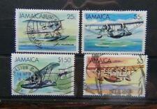 Jamaica 1984 Sea Planes and Flying Boats set Used