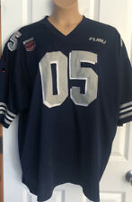 Fubu Xxxl Blue And Silver Mens Sports Jersey Shirt Triple Extra Large