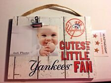 New York Yankees Picture Frame Cutest little Yankees fan BRAND NEW GIFT IDEA