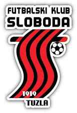 "FK Sloboda Tuzla FC Bosnia Football Soccer Car Bumper Sticker Decal 4""X5"""