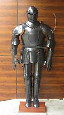 Medieval-Knight-Wearable-Suit-of-Armor-Adult-Size-with-Display-Stand-NEW  Medie