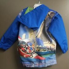 New Disney Store Meet The Robinsons Lewis Wilbur Boys Hooded Jacket Size 4-7/8