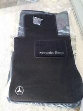 OEM GENUINE MERCEDES BENZ CARPET FLOOR MATS BLACK W126 SEL 560SEL 420SEL 300SEL