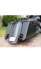 Harley Stretched Extended Saddlebags And Rear Fender For Touring Baggers