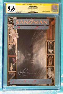 SANDMAN #1 CGC 9.6 SS - signed by Neil Gaiman - Vertigo / DC comics - Netflix tv