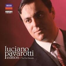 Pavarotti Edition: The First Decade (Ltd.Edt.) von Luciano Pavarotti (2014)