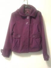 Jack Bb Dakota Coat L Two Pockets Hooded Jacket Purple