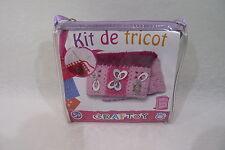 Kit de Tricot et couture en sacoche NEUF CRAFTOY pour créer un sac