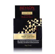 Revlon Realistic Black Seed Oil Strengthening Edge Control Long-Lasting Hold 2oz
