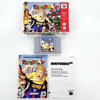 Paperboy (Nintendo 64, 1999) Authentic Complete In Box Tested & Works