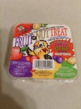 C&S Fruit N Nut Treat Bird Feed 11 Oz
