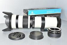 Nikon Digital DSLR Fit 420 800mm Vergrößerungsobjektiv 2400mm d3100 d3200 d3300 d3400 d3500+