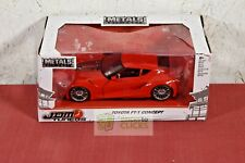 Jada Toys JDM Tuner Toyota FT-1 Concept Die-Cast Vehicle 1:24 Scale