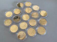 Konvolut 2 Euro Münzen Diverse Länder - vergoldet