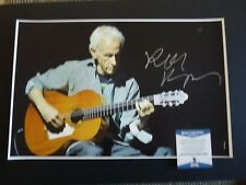 Robby Krieger The Doors Signed Autographed 11x17  Photo Beckett Certified #5