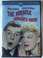 The Miracle of Morgans Creek.  Eddie Bracken (DVD, 2005) FACTORY SEALED