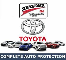 Toyota Vehicles Hood Protection Kit 3M Paint Protector Film Partial Hoods
