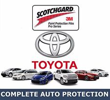 TOYOTA Vehicles HOOD KIT Precut Clear 3M Paint Protection Bra Film
