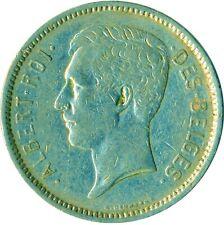 More details for coin / belgium / 5 francs 1933 albert roi des belges  #wt7340