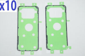 10 Adhesive Sticker Back Housing Battery Cover For Samsung S9 S8 S7edge A20 A720