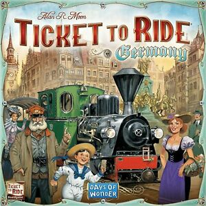 Ticket To Ride Germany Board Game Days Of Wonder Alan Moon DOW DO7215