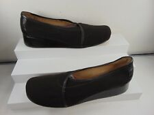 RANGONI (HAND MADE IN ITALY) BROWN SOFT FABRIC SLIP ON LOAFER 10 AA $395.00!!
