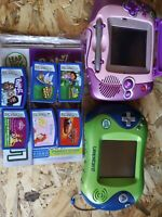 LEAP FROG LEAPSTER & LEAPSTER 2 AND GAMES