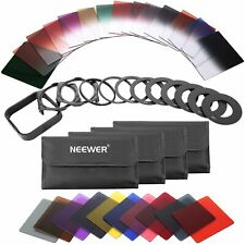 Neewer 40-in-1 SquareGraduated Color ND Filter Kit fr Cokin P Series DSLR Camera