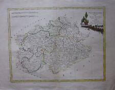 1780 ALTA SASSONIA Zatta Obersachsen Meißen Thüringen Erfurt Weimar Leipzig