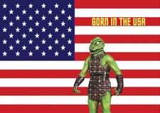 Star Trek TOS Original Series Alien - GORN IN THE USA Humor Window Cling Sticker