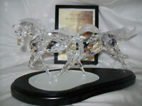 SWAROVSKI LIMITIERTE AUSGABE 2001 DIE WILDE PFERDE WILD HORSES