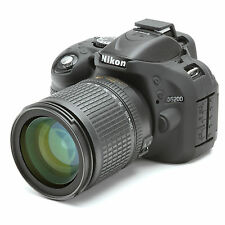 negro EasyCover cámara caso para Nikon 1 V3 cuerpo