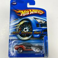 Hot Wheels 2006 #125 - 1970 Mustang Mach 1 - J3447-0916