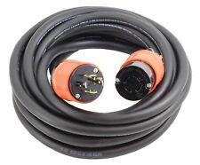 10ft 20 Amp Nema L14-20P to Nema L14-20R Generator Extension Cord by Ac Works®