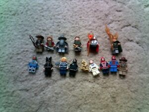 Lego Film Mini Figures - Marvel  Lord of the Rings DC Comics