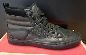 Vans Sk8-Hi MTE (black/black) Leder schwarz SALE Neu Gr. 44,5