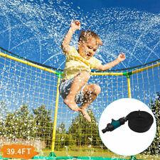 39.4FT Trampoline Waterpark Sprinkler For Kids Outdoor Kids Water Sprinkler Toys