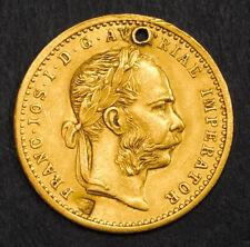 1911, Austria (Empire), Francis Joseph I. Gold Ducat Coin. Russian? Countermark!
